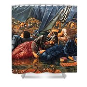 The Council Chamber 1890 Shower Curtain