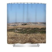 The Country In The Tuscany Region Shower Curtain