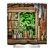 The Country Kitchen Shower Curtain