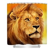 The Courageous Cecil - African Lion Shower Curtain