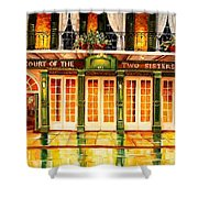The Court Of Two Sisters On Royal Shower Curtain