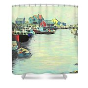 The Cove Shower Curtain