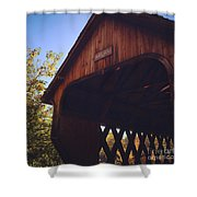 The Covered Bridge Shower Curtain