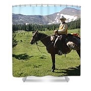 The Cowboy #5 Shower Curtain