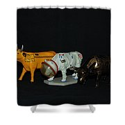 The Cows Shower Curtain