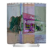 The Cracker Barrel Shower Curtain