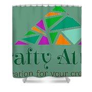 The Crafty Attic Shower Curtain
