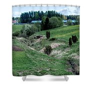 The Creek And River Shower Curtain