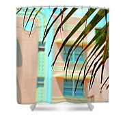 The Crescent Shower Curtain