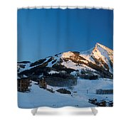 The Crested Butte Shower Curtain