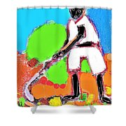 The Crop Shower Curtain
