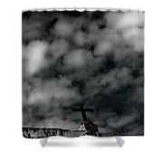 The Cross 1 Shower Curtain