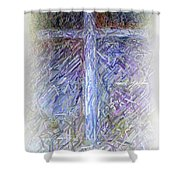 The Cross Shower Curtain