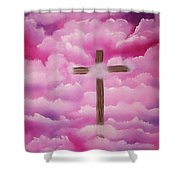 The Cross Of Redemption Shower Curtain