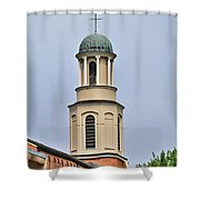 The Cross On Top Shower Curtain