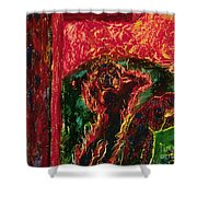 The Cross, The World And Fire - Bgcwf Shower Curtain