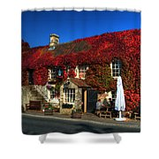 The Crown At Kelston Shower Curtain
