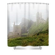 The Crowns In Fog Shower Curtain