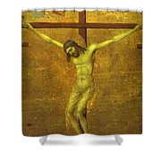 The Crucifixion 1311 Shower Curtain