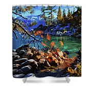The Crystal Waters Of Lake Tahoe Shower Curtain