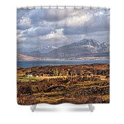 The Cuillin Shower Curtain