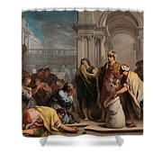 The Cup In Benjamin Sack Amigoni, Jacopo Shower Curtain