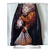 The Curtain Shower Curtain