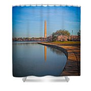 The Curve Of The Basin Shower Curtain