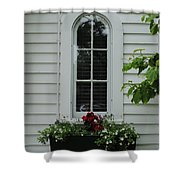 The Curve Window Shower Curtain