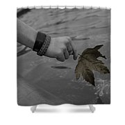 The Cycle Photo Seven Shower Curtain
