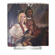 The Cynthia Ann Parker Family Shower Curtain