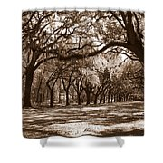 The Dance - Sepia Shower Curtain