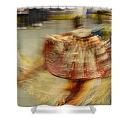 Pow Wow The Dance 2 Shower Curtain