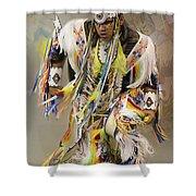 Pow Wow The Dance 4 Shower Curtain