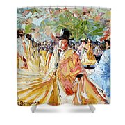 The Dance At La Paz Shower Curtain