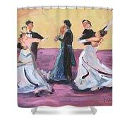 The Dance Shower Curtain
