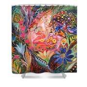 The Dance Of Flowers Shower Curtain