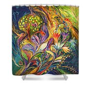The Dance Of Lilies Shower Curtain