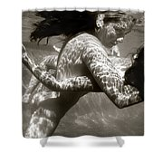 The Dance Of Surrender Shower Curtain