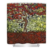 The Dancer Series 5 Shower Curtain