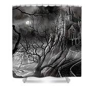 The Dark Castle Shower Curtain