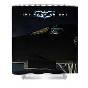 The Dark Knight 2 Shower Curtain