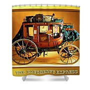 The Daugherty Express Shower Curtain