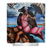 The Daughter Of Men Shower Curtain