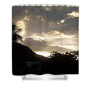 The Dawning Shower Curtain