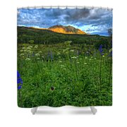 The Dawning Of Majesty Shower Curtain