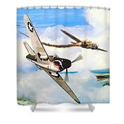 The Day I Owned The Sky Shower Curtain