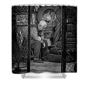 The Day Is Done Shower Curtain