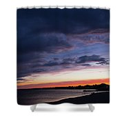 The Day Rests Shower Curtain