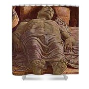 The Dead Christ 1478 Shower Curtain